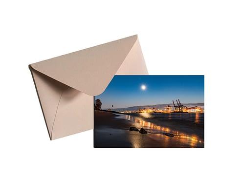 Elbstrand-am-Abend-mit-Mondlicht-Karte