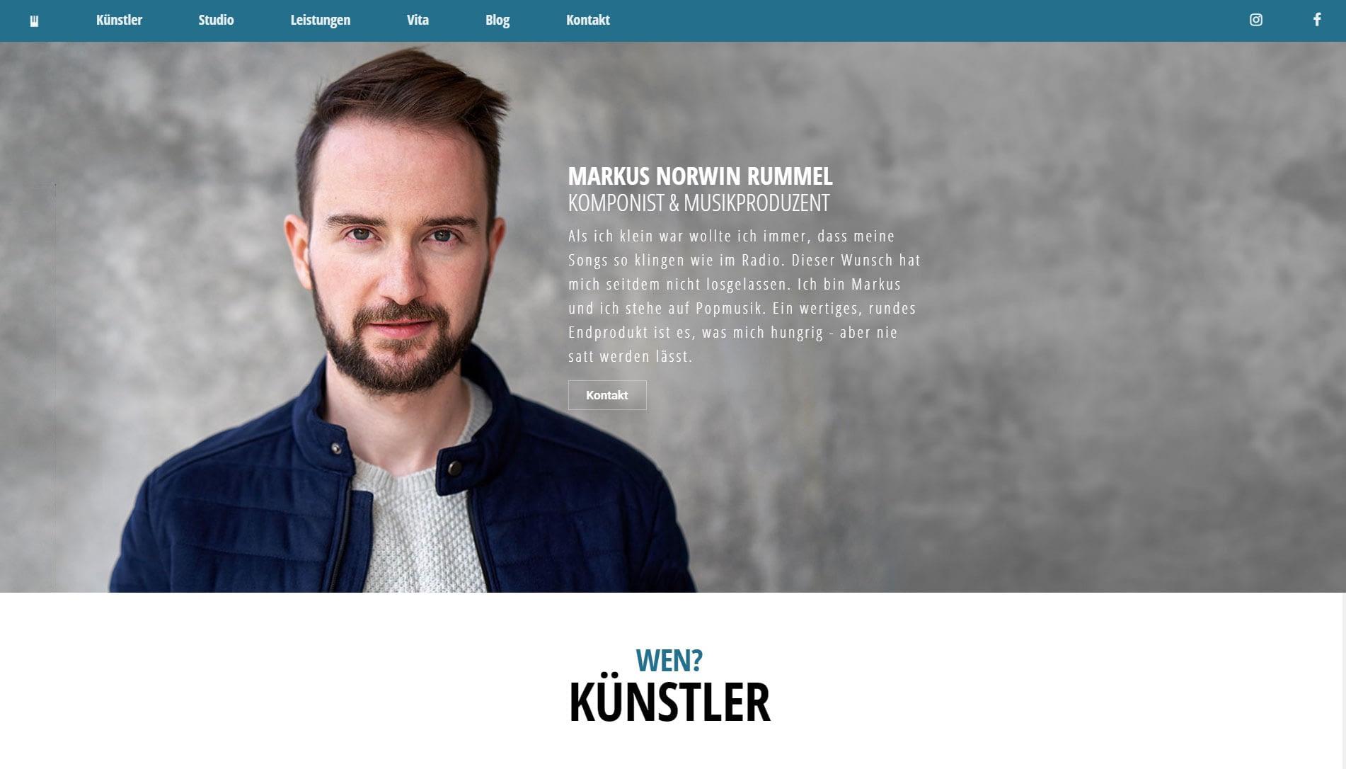 Markus-Norwin-Rummel-Website