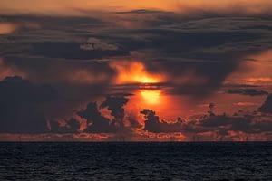 Sonnenuntergang-bei-177-mm-auf-Sylt